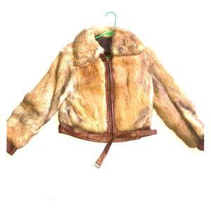 Jackets & Blazers - Fox Fur Bomber Jacket